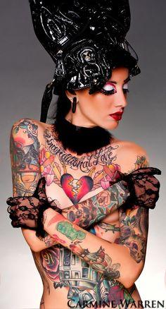 Tattoo Liz – Tattooed Model & Owner of A Fu Kein Good Tattoo