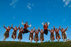 Bulgarian national dance // horo