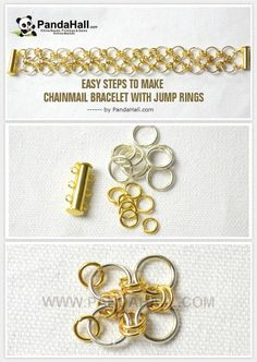Easy Steps to Make Chainmail Bracelet with Jump Rings