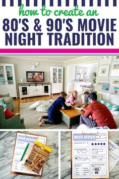 How to Create a and Movie Night Tradition With Your Kids - My Life and Kids Movie Night Snacks, Family Movie Night, Movie Nights, Throwback Movies, 90s Movies, Latest Family Movies, Diy Projects For Fall, Diy Nursery Decor, Movie Dates