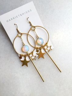 Luxury Gift for Wife, Blue White Geode Crystal Earrings for Stocking, Raw Crystal Studs in Ocean Blue and Gold Fill - Fine Jewelry Ideas Bar Stud Earrings, Rose Earrings, Crystal Earrings, Statement Earrings, Diamond Earrings, Tassel Necklace, Diamond Stud, Helix Earrings, Amber Earrings