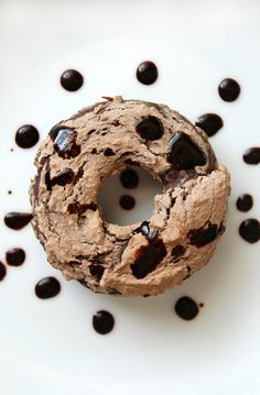 Triple Chocolate Doughnuts