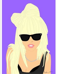 Lady Gaga Icon Poster Uncovet I want this same poster of Rachel Zoe