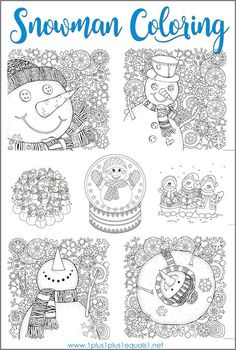 Trendy music therapy activities for adults coloring pages Ideas Winter Activities For Kids, Winter Crafts For Kids, Winter Fun, Christmas Activities, Christmas Crafts, Snowman Coloring Pages, Coloring For Kids, Coloring Pages For Kids, Coloring Books