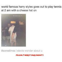 TENNIS. AND. A. CHEESEHEAD. AND HE'S A NIGHT OWL. IT'S LIKE WE ARE MEANT FOR EACH OTHER. I'M DONE. -E