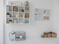 My Desk by Frau Mayer and Cat, via Flickr