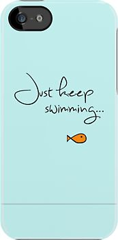 What do we do? We swim, swim. iPhone case $35.65 this is the best case ever!!