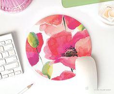 pink mousepad mousepad mouse pad chevron mouse pad