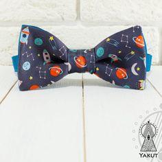 Bow Tie Space trip Bowtie Creative bow tie Men's от BowTieYAKUT