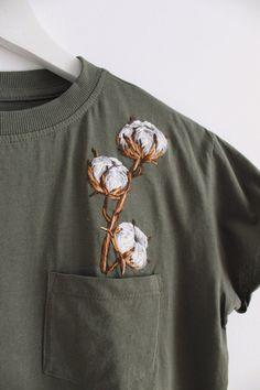 Embroidered shirts Embroidered shirt T-shirt embroider T-shirts embroidered T-shirt embroi. - Embroidered shirts Embroidered shirt T-shirt embroider T-shirts embroidered T-shirt embroidering - Embroidery On Clothes, Embroidered Clothes, Floral Embroidery, Embroidery Stitches, Hand Embroidery, Custom Embroidery, Embroidery On Tshirt, Embroidery Patterns, Diy Fashion