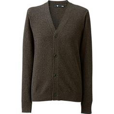 MEN (+J) STRETCH CASHMERE V NECK CARDIGAN