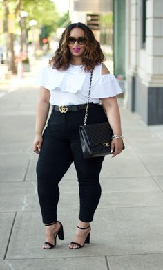 """Plus Size Fashion for Women - Beauticurve - Summer Fab: """"It"""" Top & Belt - Beauticurve"""