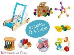 Juguetes por edad: de 0 a 1 año – Toys by age: 0 to 1