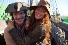 Black Sails. Anne Bonny and Jack Rackham. Ranger Crew