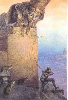 Blog of an Art Admirer: Vladimir Rumyantsev and His Charming Cats