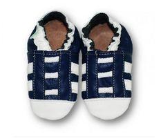 ekoTuptusie Tenisiaki granatowe z białym noskiem :)  Soft Sole Shoes Sneakers Navy with White nose for active tootsy https://fiorino.eu/