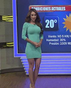 27 Best Mexican weather girl images in 2018 | Mexican