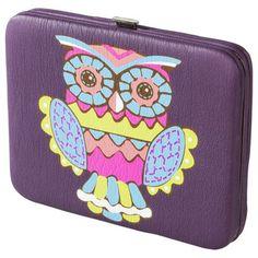 Owl Printed Wallet - Pinned by www.myowlbarn.com