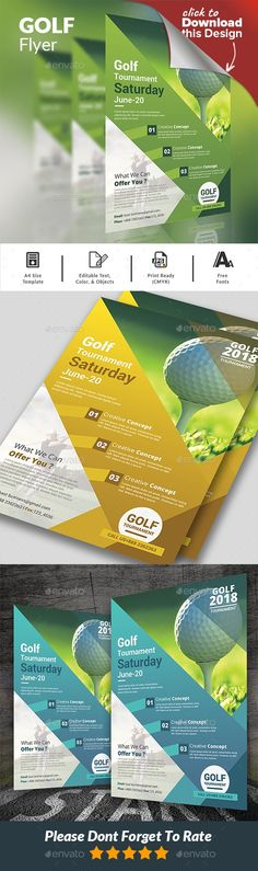 Golf Course Flyers  Google Search  Golf Tournaments