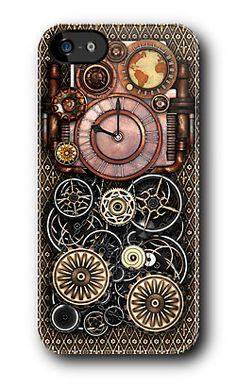 Infernal Steampunk Timepiece No.2 phone cases from Poppycock and Cheapskate at RedBubble. Available for iPhone, iPod 4G and Samsung Galaxy