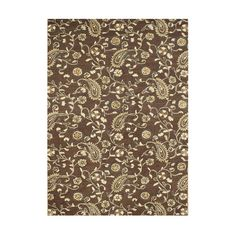 Found it at Wayfair - Luxe Gray Hand-Tufted Tobacco Brown Area Rug