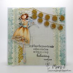 *** Stamping General***  Where's my creativity?: Wishes do come true - just believe!