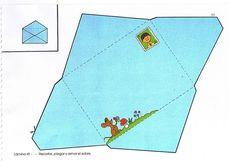 envelop kleuters, free printable