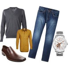 """""""Dad Style Fall Family Photoshoot"""" by sweetstellas on Polyvore"""