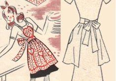 Vintage Heart Apron Tutorial by johanna