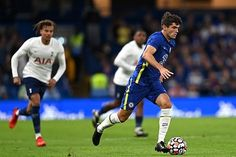 Tottenham peg Chelsea back from two goals down in pre-season clash at Stamford Bridge with Steven Bergwijn and Lucas Moura on the scoresheet, after Hakim Ziyech's brilliant double had left the Blues cruising. Chelsea Match, Chelsea Fc, Chelsea Vs Tottenham, Ben Davies, Lucas Moura, Tammy Abraham, Christian Pulisic, Stamford Bridge, West London