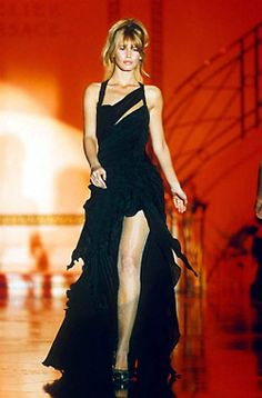 Claudia for Versace, s/s 1994