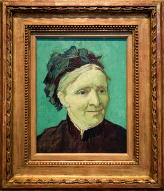 Vincent van Gogh (1853-1890). Portrait of the Artist's Mother, 1888.