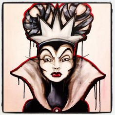 Wicked Queen by MariahMBaretta on Etsy, $100.00