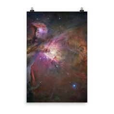 Space Art Poster - The Orion Nebula