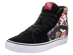 Vans Unisex Sk8Hi Labels Skate ShoeLabelsBlack * You can find out more details at the link of the image. (This is an Amazon affiliate link)