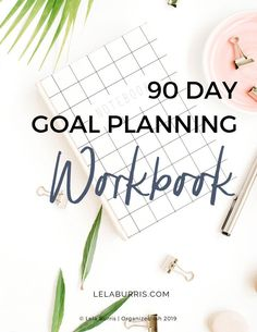 free 90 day goal planning workbook from Lela Burris Failing at your annual goals? One Year Goal Setting doesn't work. Here's how you can break it down into achievable 90 Day Goals instead. Goals Planner, Blog Planner, 2015 Planner, Making Goals, Blog Writing Tips, 90 Day Plan, Finding Motivation, Work Goals, Goal Setting Worksheet