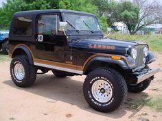 Sweet 1983 CJ-7         LAREDO!