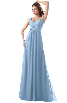 bcb3da3096a ColsBM Diana - Dusty Blue Bridesmaid Dresses