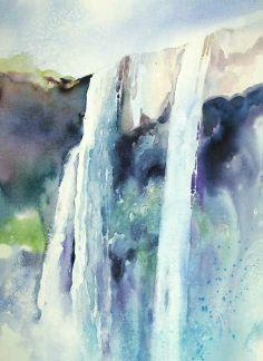 The Art of Julie Gilbert Pollard - watercolor tutorial