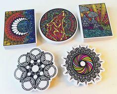 Zentangle Ele Sticker By ZenspireDesigns On Etsy
