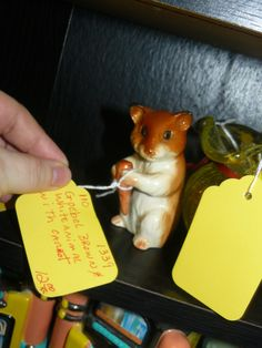 Goebel mouse hamster, very cute collectible