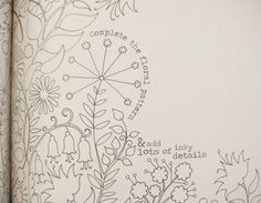 Laurence King Have Just Published A Lovely New Book By Illustrator Johanna Basford Called Secret Garden