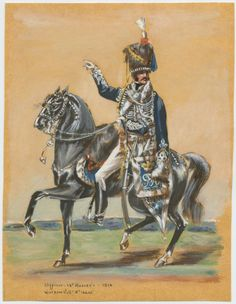 Officer--18th Hussar's--1814