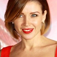 Dannii Minogue Bob Hairstyle - Sexy Polished Layered Bob Hairstyle for Women