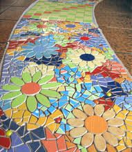 Image result for mesa con mosaicos