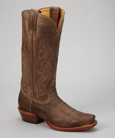 Cowboy boots are on my shopping list for fall. Tan Vintage Fashion Cowboy Boot - Women