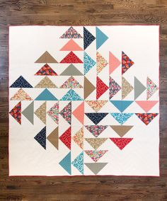 Four Winds Quilt Pattern by Fancy Tiger PDF by fancytiger on Etsy