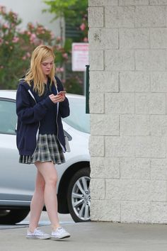 Elle Fanning – Out in Studio City, May 2015