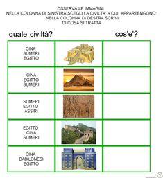 verifica semplificata civiltà dei fiumi 3, Aldo, School, Historia, Autism