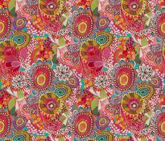 MissLibby-Pattern fabric by stephaniecorfee on Spoonflower - custom fabric